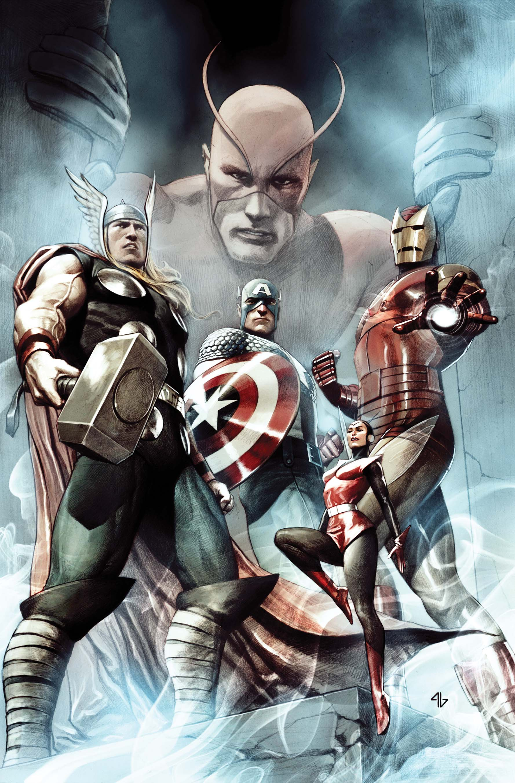 Captain America – Hail Hydra by Adi Granov