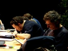 Marco Chechetto et Mario Alberti
