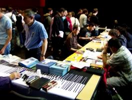 Une affluence concentrée vers les auteurs