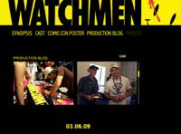 L'adaptation cinématographique de Watchmen (l'oeuvre d'Alan Moore et Dave Gibbons) s'est pourvue d'un site qui comporte aussi bien le blog de production que la possibilité […]
