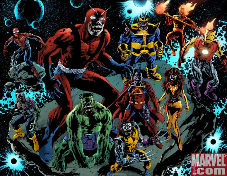 What awaits the Marvel Zombies back on Earth is beyond anything even ... Marvel