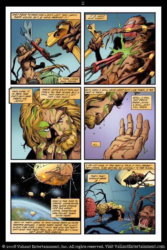 Preview : Valiant?s X-O Manowar: Birth