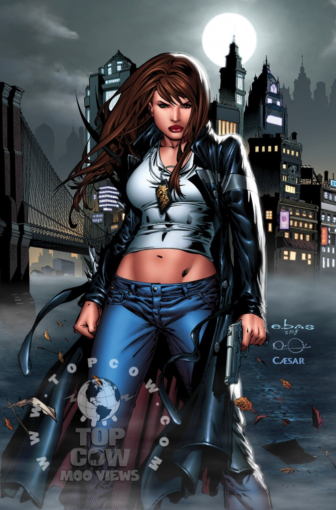 Witchblade Annual 2009 cover by Eric Basaldu