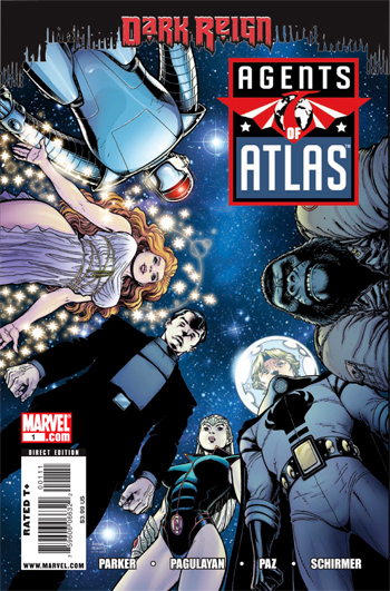 Agents of Atlas V.2 #1