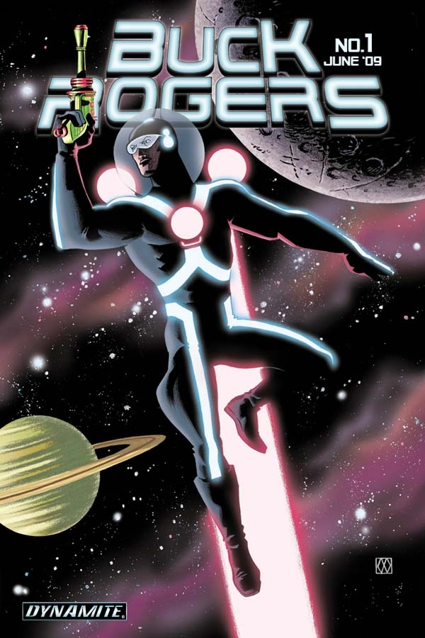 New Buck Rogers #1 Cover By Matt Wagner