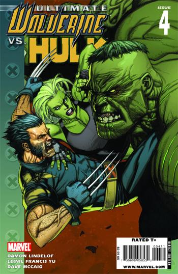 Ultimate Wolverine vs Hulk #4