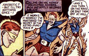 Le Red Blazer découvre ses pouvoirs fantastiques...