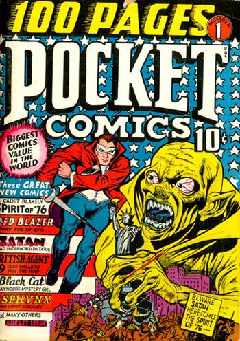 La couverture de Pocket Comics #1
