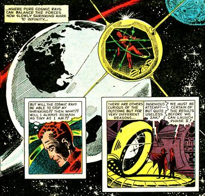Une seule solution : partir dans l'espace pour être traité par les rayons cosmiques...