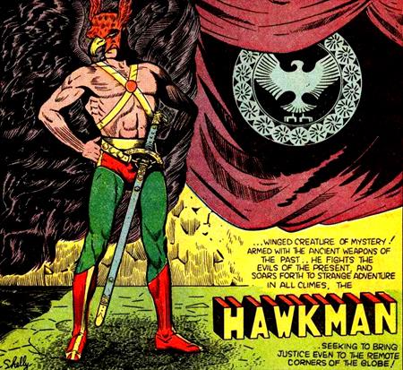 La véritable richesse de Hawkman n'est pas sa paire d'ailes mais son passé.