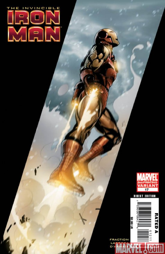 Invincible Iron Man #17 New Printing