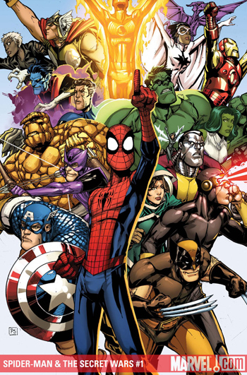 Spider-Man & The Secret Wars #1