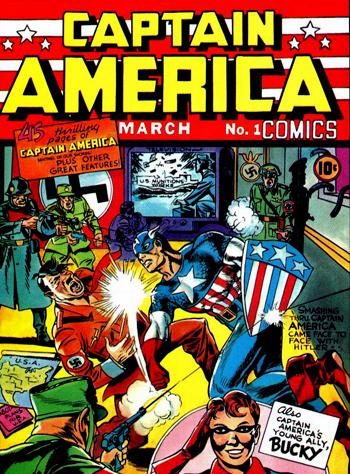 """Résultat de recherche d'images pour """"Captain America Comics n°1"""""""