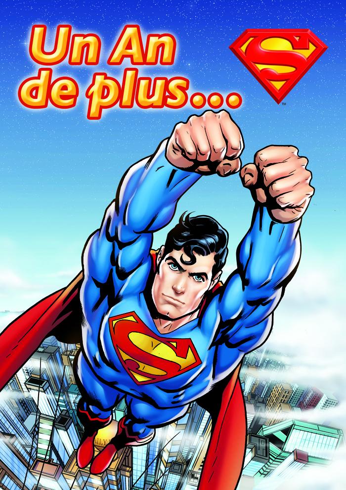 Envoyez des messages originaux au son des voix des h ros de warner - Carte anniversaire super heros ...