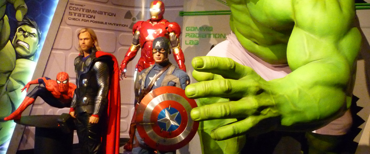 Marvel 4D @ Madame Tussauds