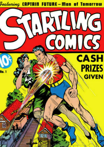 Startling Comics #1 (Juin 1940)