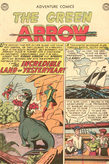 Oldies But Goodies: Adventure Comics #208 (Jan. 1955)