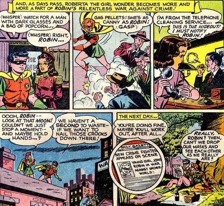 Roberta devient la partenaire de Robin.