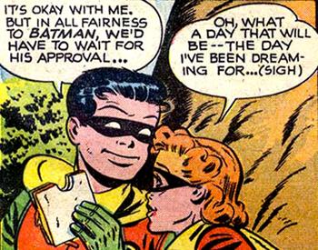 Roberta et Robin... Un couple en devenir ?