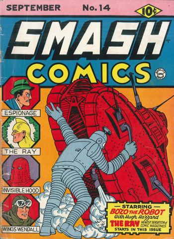 Smash Comics #14 (Sept. 1940)