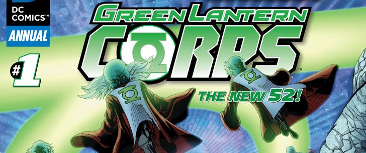 Avant-Première VO: Review Green Lantern Corps Annual #1