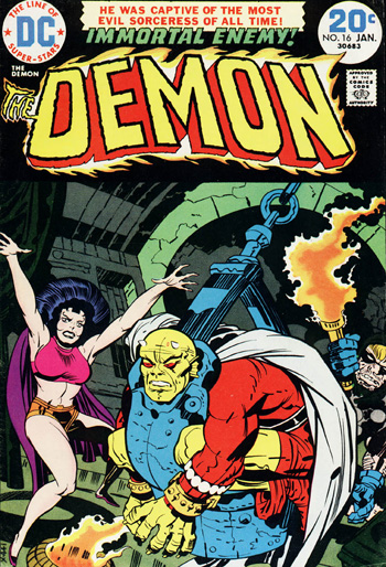 Demon #16 (Jan. 1974)