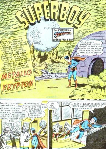 Superboy #49 (Juin 1956)