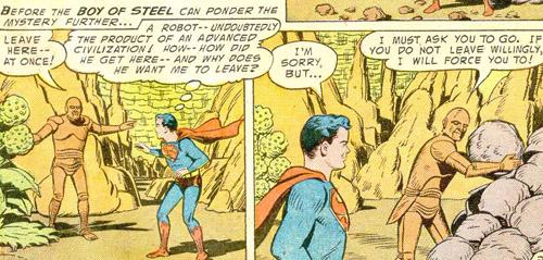 Superboy rencontre... Metallo !