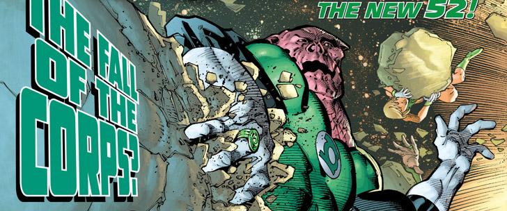 Avant-Première VO: Review Green Lantern Corps #19