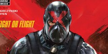 [ENGLISH] Dark Horse Comics says: The enigmatic vigilante X has shattered Arcadia&rsquo;s criminal triumvirate, the Three Pigs, and fixed his eye on an even tougher...