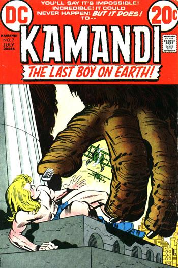 Kamandi #7 (Juillet 1973)