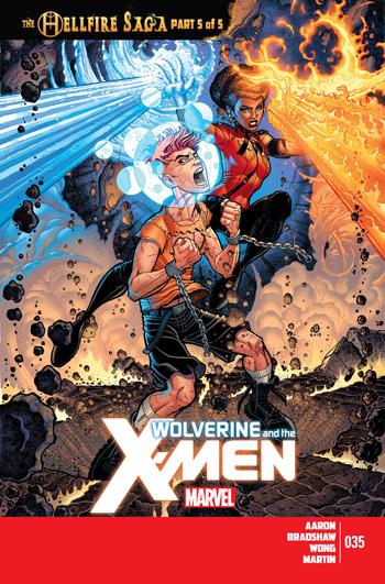 Avant-Première VO: Review Wolverine & The X-Men #35