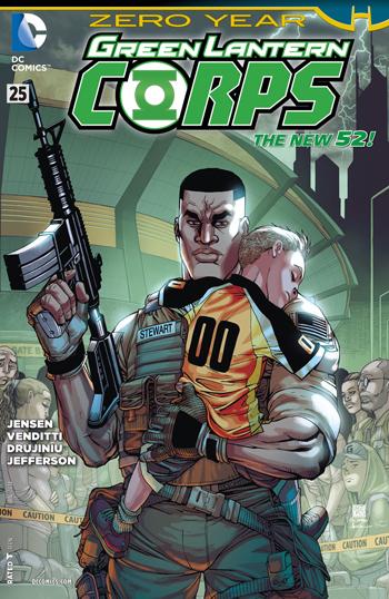 Green Lantern Corps #25