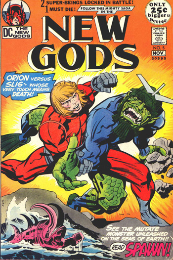 New Gods #5 (Oct. 1971)