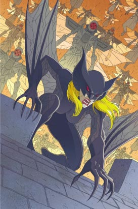 La Baronne Blood de Marvel