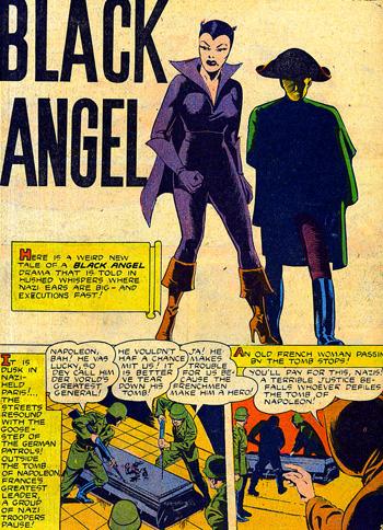 Black Angel et son nouvel ami...