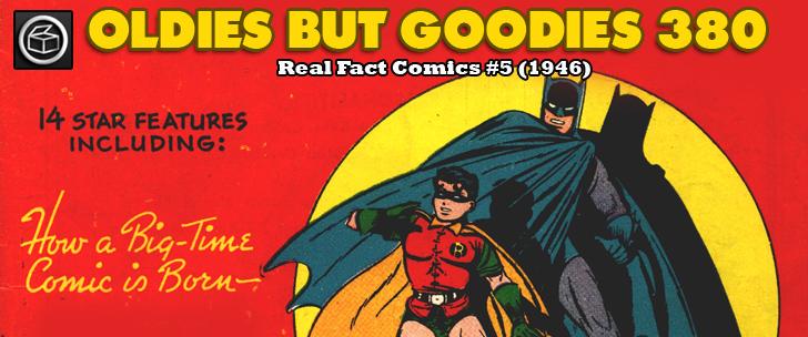 Oldies But Goodies: Real Fact Comics #5 (1946)