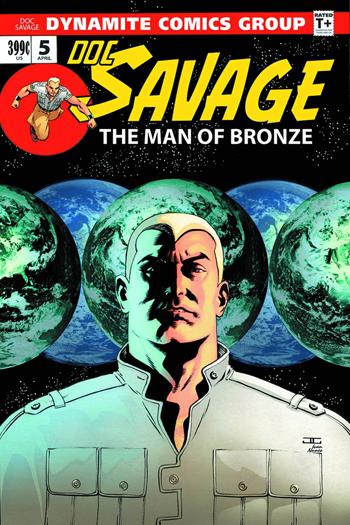 Avant-Première VO: Review Doc Savage #5
