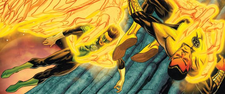 Avant-Première VO: Review Sinestro #5