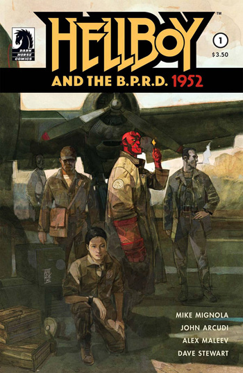 Hellboy And The B.P.R.D.: 1952 #1