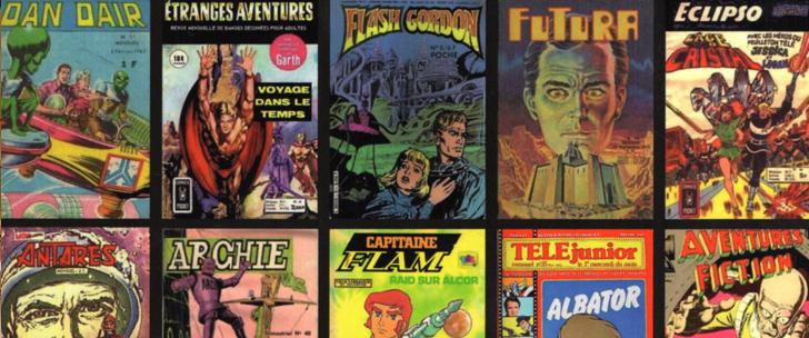 Avant-Première VF: Review BD de Kiosque & Science-Fiction