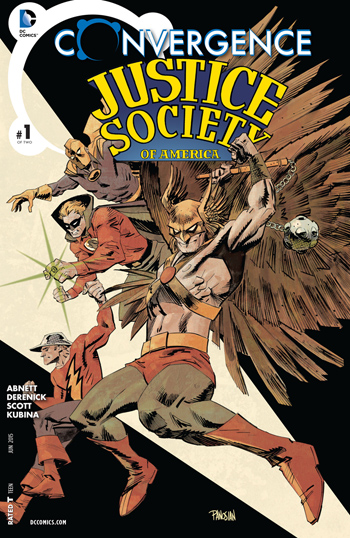 Avant-Première VO: Review Convergence: Justice Society of America #1
