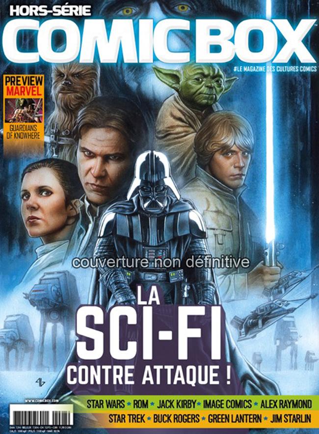 Teaser: Comic Box Hors-Série Science-Fiction
