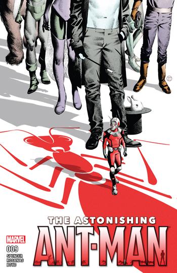 Avant-Première VO: Review Astonishing Ant-Man #9
