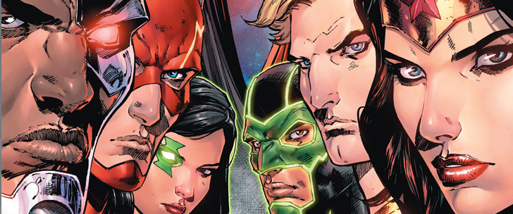 Avant-Première VO: Review Justice League Rebirth #1