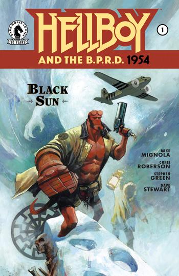 Avant-Première VO: Review Hellboy And The B.P.R.D.: 1954 - Black Sun #1