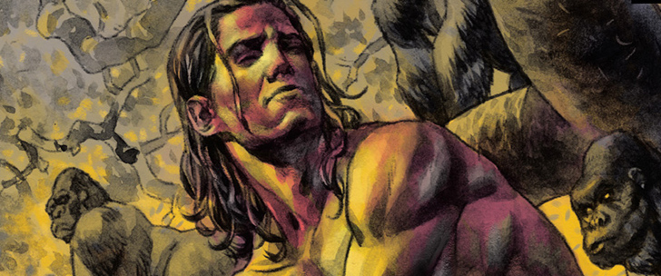 Avant-Première VO: Review Tarzan On The Planet Of The Apes #1
