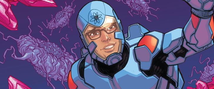 Avant-Premi̬re VO: Review Justice League Of America РThe Atom Rebirth #1