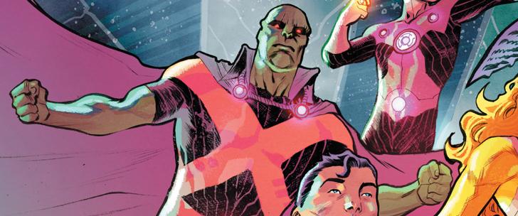 Avant-Premi̬re VO: Review Justice League РNo Justice #1