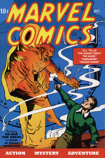 80 ans de Marvel Comics